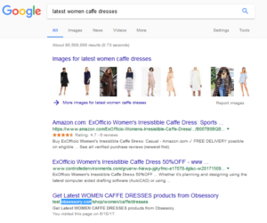 Hire dedicated SEO consultants for fashion websites