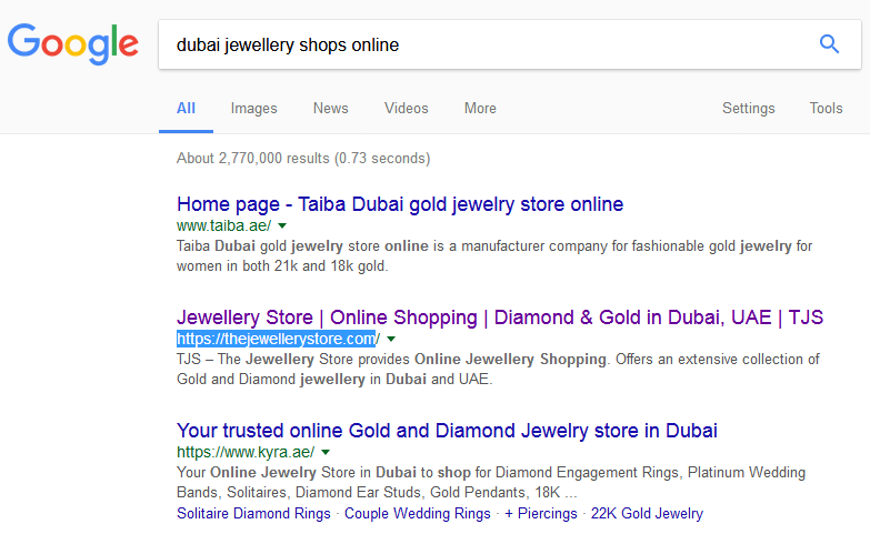 Hire dedicated SEO professionals for jewelry websites