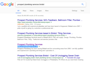 Hire dedicated SEO company for plumbing websites